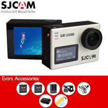 SJCAM SJ6 Legend 4K Original Action Camera Touch Screen Waterproof WiFi Sport DV+Many Accessories+Remote Watch+Extend Microphone(China)