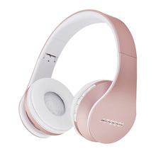 Andoer LH-811 4 in 1 Bluetooth Headphone Wireless Stereo Headset with Mic MP3 Player FMRadio Handsfree for SmartPhone for iPhone