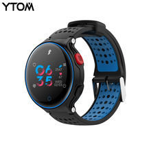 Buy YTOM Smartwatch Heart Rate Tracker IP68 Waterproof Ultra-long Standby IOS Android Phone Smart Watch bluetooth watch for $32.39 in AliExpress store