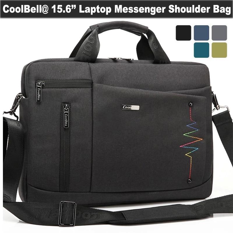 CoolBell 14 15.6 Inch Laptop Shoulder Packs Unisex Handbag Carry Messenger Briefcase for Chromebook/Dell/Lenovo/Acer/ASUS/HP<br><br>Aliexpress