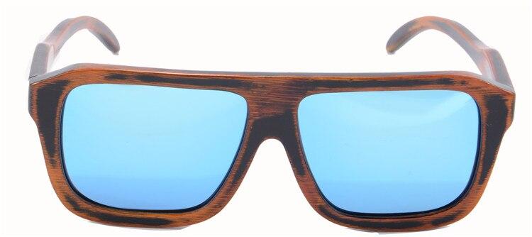 Retro Carbonized Bamboo Sunglasses Polarized Mirror Coating Wooden Sun Glasses Men Brand Designer Oculos De Sol Masculino B061<br><br>Aliexpress