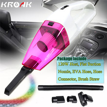 DC 12V 120W Useful In-Car Portable Wet And Dry Dual Use Car Home Mini Handheld Vacuum Cleaner
