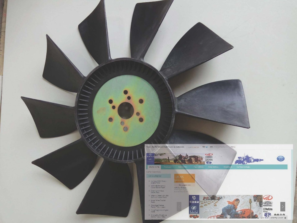 Foton tractor parts, the cooling fan for lovol engine, part number :T64406012<br>