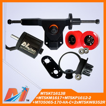 Maytech Free shipping for rocking skateboard wave skateboard kits 5065 on-road motor combo kit(China)