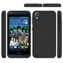 Armor Hybrid TPU Shockproof Silicone + Hard Phone Case For HTC Desire 626 626G 626G+ 626S 626W Dual SIM Case Cover Back Cover(China)