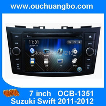 Car stereo dvd gps radio player fit for Suzuki Swift 2011-2012 with MP3 Spanish Russia language AUX BT
