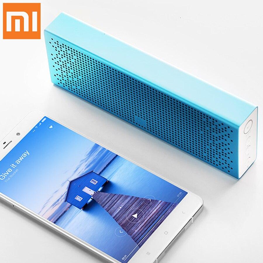 Original Xiaomi Mi Bluetooth Speaker Wireless Stereo Mini Handsfree Call Stereo Portable Speaker Bluetooth 4.0 Aluminum Frame