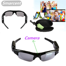 SMARCENT Mini Video Gasses Camera Digital Audio DV DVR Glasses with Video Camera Recorder Camera Glasses For Driving Outdoor(China)