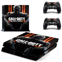 Vinyl Skin Decal Cover for Sony Playstation 4 & Remote Dualshock 4 Wireless Controller Stickers - Call of Duty Black Ops 3