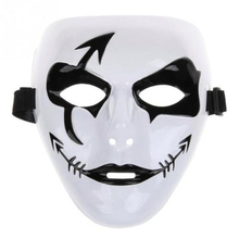So Cool! white jabbawockeez Face masks Halloween Party Mask Masquerade Hip-Hop Ghost Dance Fancy Dress Costume Mask HG0167