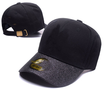Fashion New Golf Hat Hats Cap Caps Solid Color for men and Women Cotton Sequins