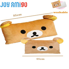 Excellent for children / adults to cuddle and sleep with Huge Size Rilakkuma Bear Plush Toys Throw Pillow Plush Stuffed Cushion(China)