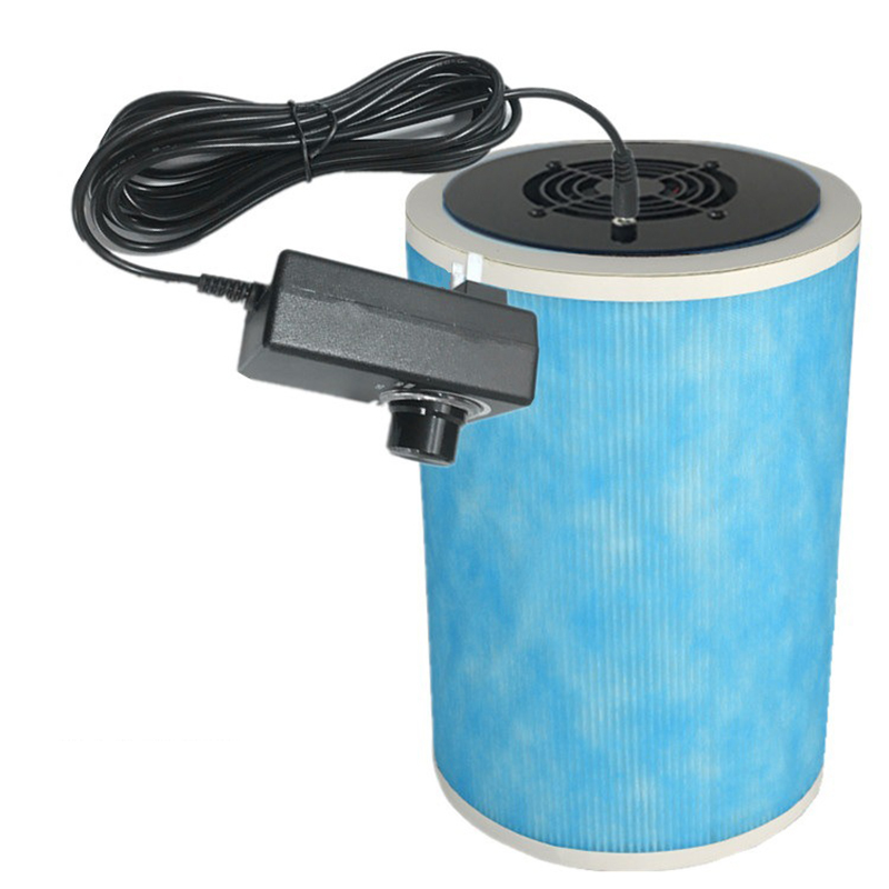 DIY xiaomi Air Purifier Homemade Air Cleaner HEPA Filter Remove PM2.5 Smoke Odor Dust Formaldehyde TVOC for Home and Car(China)