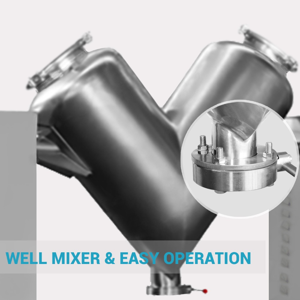 Well Mixer & Easy Operation