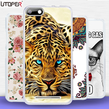 "For BQ strike 5020 case soft Silicon Cover Cartoon Flower cat case For BQ Strike BQS 5020 BQS-5020 5.0""telephone DIY Case Fundas"