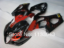 Injection For SUZUKI GSX-R1000 K3 03 04 Red Flame Y02149 GSX R1000 K3 GSXR 1000 2003 2004 GSXR1000 Fairing Kit