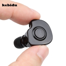 kebidu 2 in 1 Mini Bluetooth V 4.1 Stereo Headset Earphones True bluetooth Earbuds TWS stereo earbuds for iPhone Android Phone(China)