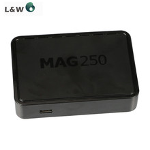 10 pcs Inform Mag250 IPTV box Multimedia Player Internet TV IP Receiver HB Digital Wlan Wifi Dong with antenna MAG 250 TV Box