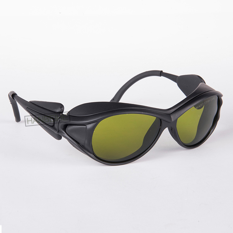 HANBEIHE LSG-5 laser safety glasses for 190-450nm and 800-1700nm 808 810 830 850 980 diode laser and 1064nm 1070 1320 1470nm <br>