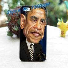 obama 4 fashion cover case for iphone 4 4S 5 5S 5C SE 6 6 plus 6s 6s plus 7 7 plus