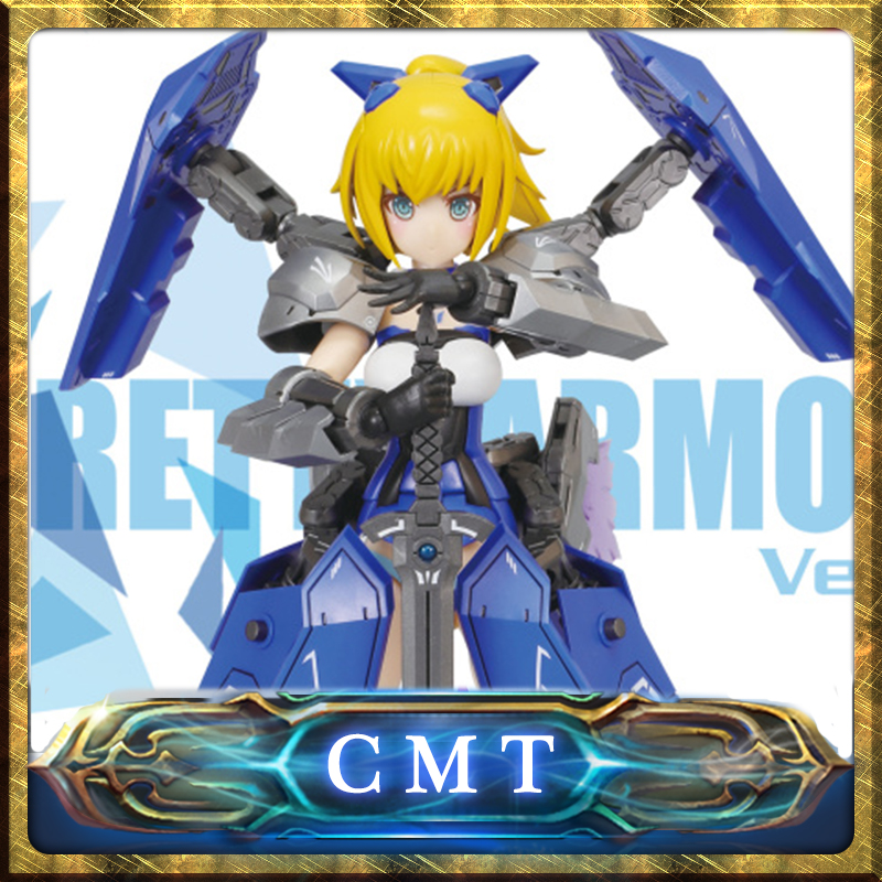 CMT Pretty Armor Saber Wing Zero robot mobile suit MS Girl Plastic Model Kit Anime Toys Figure<br>