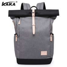 "KAKA Brand Unisex Men Business 15.6"" Laptop Practical School Backpack Casual Travel Women's Backpacks Luggage Bags Korean Style(China)"