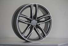 "20"" GUNMETAL RS6 S LINE STYLE WHEELS RIMS FITS AUDI Q7 VW VOLKSWAGEN TOUAREG W627(China)"