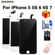 Black/White Assembly LCD Display 디지타이저 대 한 iPhone 6 초 AAA Quality LCD Touch Screen 대 한 iPhone 6 5 초 와 Small 부 Free 배(China)