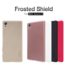 Nillkin For Sony Xperia X Case Frosted Shield Cover Hight Quality Hard Case For Sony Xperia X + Screen Protector