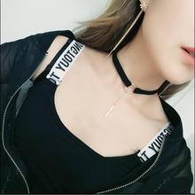 Free shipping new fashion jewelry retro velvet hexagram star pendant necklace short clavicle choker torques female accessory