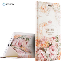 Luxury PU Leather 3D Relief Printing Stereo Feeling Smart Flip Cover Case For Xiaomi Mi 5s / Mi5s Prime Stand Phone Bag Fundas
