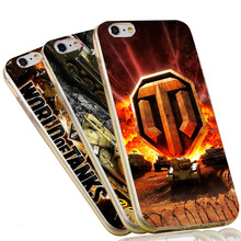 Conqueror World Of Tanks Transparent Soft TPU Phone Case Cover for iPhone 4 4S 5S 5 SE 5C 6 6S 7 Plus