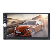 7026TM 7 inch car multi-function player, touch screen radio, Bluetooth MP3 player RM/RMVB/BT/FM PLAYER Mirror link MP5 player(China)