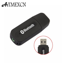 Aitmexcn USB Wireless Bluetooth Music Audio Receiver Dongle Adapter 3.5mm Jack  Audio Cable for Aux Car  for Iphone speaker mp3