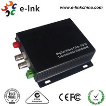 2Ch CCTV to fiber Transceiver With Data Rs485(China)