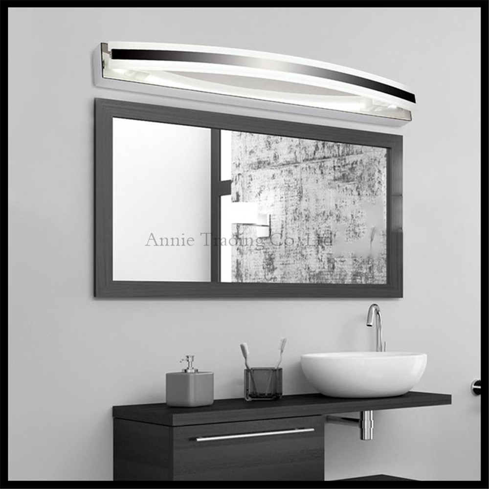 2017 New 12W 55cm/21.6inches LED Mirror Lamp Modern Acrylic Led Bathroom  Vanity Light
