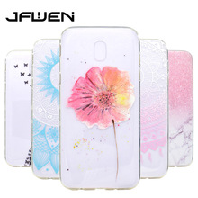 Buy JFWEN Soft TPU Phone Back Cover Coque Samsung Galaxy J5 2017 High Transparency Silicone Samsung Galaxy J5 2017 J530 Case for $1.49 in AliExpress store