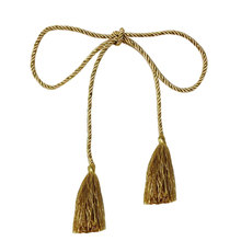 Window Decorating Curtain Tassel Rope Tie Backs Curtain Fringe Tiebacks(China)