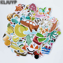 KLJUYP 75pc Summer Holidays Cardstock Die Cuts for Scrapbooking Happy Planner/Card Making/Journaling Project