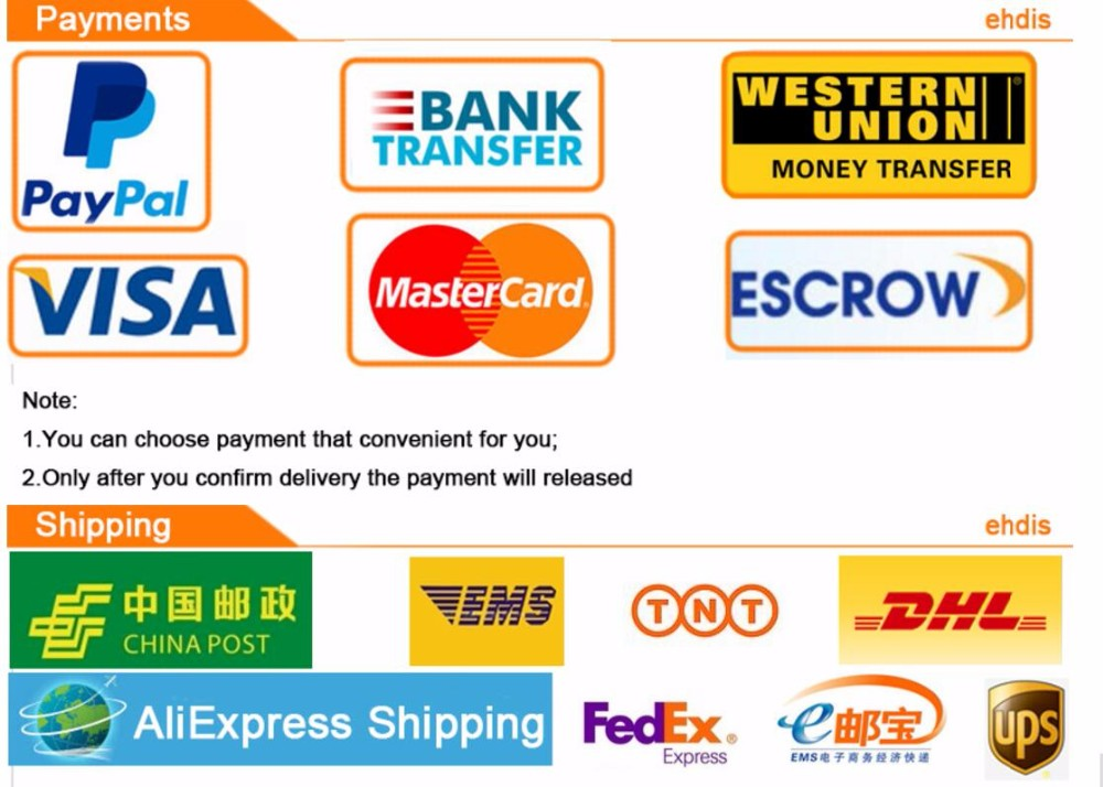 payment and shipping from Builders Choice Tools Limited
