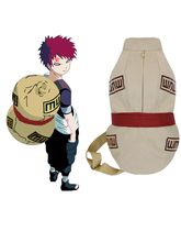 Free Shipping Naruto Gaara Big Gourd Bag Anime Cosplay Accessories(China)