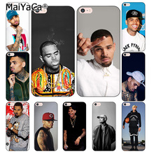 MaiYaCa Chris Brown Breezy Coque Shell Phone Case for Apple iPhone 8 7 6 6S Plus X 5 5S SE 4S Cover(China)