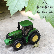 siku 1:64 tractor Alloy car model metallic material Children's toys ornaments Children like the gift