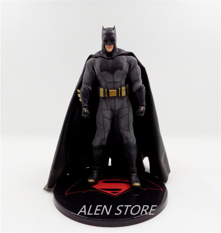 ALEN 16cm Anime figure The Avenger batman Mezco One:12 action figure collectible model toys for boys<br>