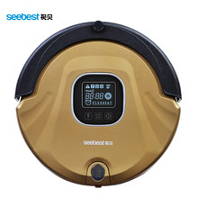Seebest Robot Vacuum Cleaner Anti Collision Anti Fall Planned Type Cleaning Route LCD Screen HEPA Filter Auto Clean for home(China)