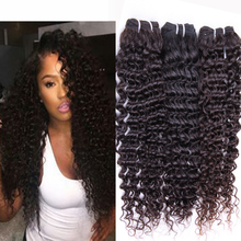 4Bundles Brazilian Curly Virgin Hair 6A Brazilian Deep Wave Human hair Weave Bundles Brazilian Curly Hair Extensions