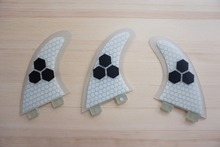 Free shipping quilhas quillas Fcs fins Surfboard Fins Surf Fins Thrusters G5 Fin (3 pcs)(China)