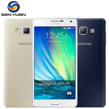 Original Unlocked Samsung Galaxy A7 A7000 4G LTE Mobile Phone Octa-core 5.5'' 13.0MP 2G RAM 16G ROM Dual SIM cellphone(China)