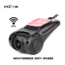 FCCWO R3 Dash Cam  Novate96655 Sony IMX322 WiFi 1080P Car DVR Registrator Video Recorder auto camera Dashcam Hidden mini camera