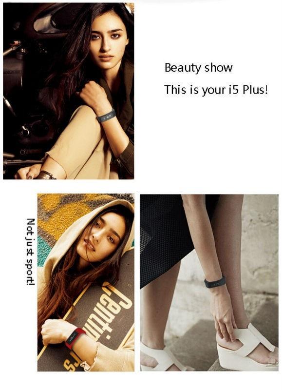 Original iwown I5 Plus Smart Bracelet Bluetooth Activity Wristband Fitness Sleep Tracker Reminder Passmeter Sports Watch 15